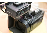 Sony HXR-NX30E Camcorder 96GB in Mint Condition with box and all Accessories