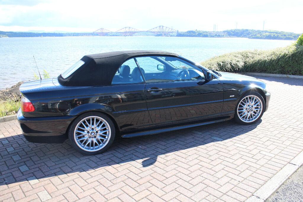 BMW 330 M-SPORT CONVERTIBLE E46 FSH MANUAL MV1 ALLOYS HEATED LEATHER *REDUCED £3195* (M3 CABRIO 325)