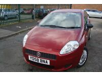 FIAT GRANDE PUNTO 1.2ltr ACTIVE *** FREE DELIVERY- LOW MILES- CHEAP INSURANCE ***