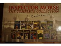 Inspector Morse the complete collection/Isaac Asimov -lots of books