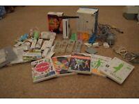 Nintendo Wii| controllers| nunchucks|balance board| games x7