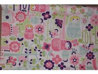 ( New in Box ) Little Home at John Lewis Dots and Dolls Blackout Roller Blinds W122 x H177cm