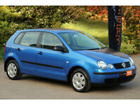 *Beautiful* 2005 VW Polo 1.2 Twist 5dr, 1 Owner, FSH, 67,586 Warranted Miles, Met.Blue*12 Mths Wrty*
