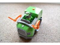 Rocky's Lights and Sounds Recycling Truck including removable figure