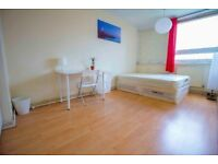 **ALL BILLS INCLUDED** Double room for rent in modern and spacious property in MILE END , Zone 2!