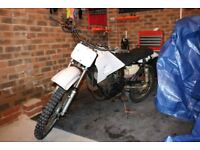 yamaha rt 100 motocross bike project (rt100)