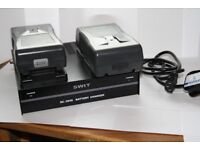 2X Swit S-8110S WITH Swit SC-304S Dual Charger