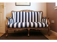 French Baroque Style Sofa/couch/chair