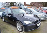 BMW 3 Series 318D M Sport Edition - SERVICE HISTORY - SATELLITE NAVIGATION -LEATHERS -FREE WARRANTY