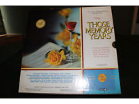 Vinyl boxed set of 6 vinyl LPs: 'Those Memory Years'