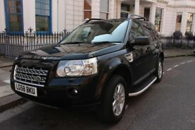 Land Rover FREELANDER 2 2.2 TD4 SE 5d AUTO BLACK LEATHER INTERIOR SAT NAV