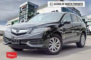 2018 Acura RDX Tech at 7yrs/130,000KM Acura Warranty Included