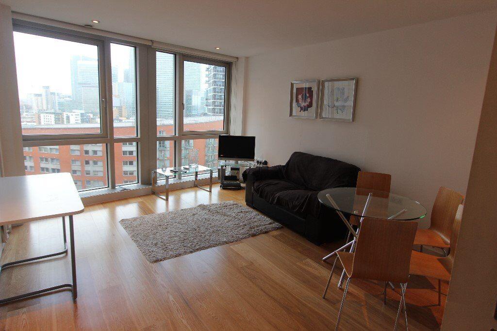 Ontario Towers Studio, STUNNING VIEWS, Canary Wharf, £290 per week