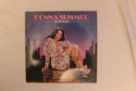Donna Summer Greatest Hits on the Radio Volumes I&II vinyl album
