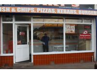 RUNNING TAKEAWAY FOR SALE BIRMINGHAM HALL GREEN