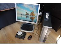 "Intel Core i5-2310 2.9GHz PC Desktop Computer - 4GB RAM - 160GB Hard Drive - WiFi - HP Monitor 17"""