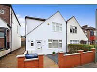 A beautiful three bed house with modern furnishings and private garden close to local transport