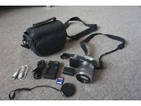 SONY α (alpha) NEX camera bundle with lens sony 18-55mm
