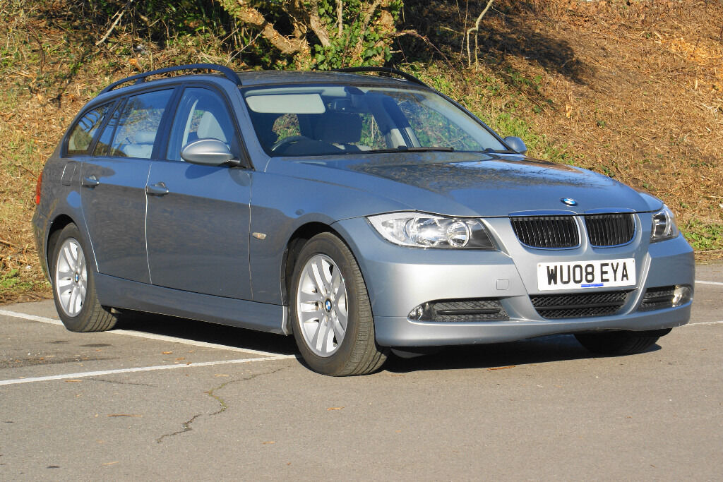 sold bmw 3 series 2 0 318i se touring 5dr full bmwsh low mileage auto in christchurch. Black Bedroom Furniture Sets. Home Design Ideas