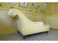 Laura Ashley Chaise Longue in Yellow