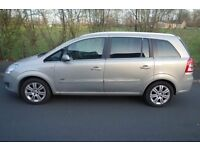 2008 VAUXHALL ZAFIRA 1.9CDTI, 2 OWNERS, DESIGN, HALF LEATHER, 6 SPEED, Half Leather, 4 Elec Windows,