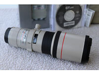 CANON EF 400MM F5.6 L USM LENS (IMMACULATE)