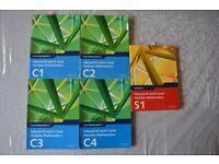 Edexcel AS/A2 level maths textbooks - C1, C2, C3, C4, S1