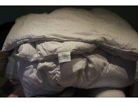 Dorma Super King Duvet 90% Duck Down 10% Duck Feather in Cotton casing 13.5 tog