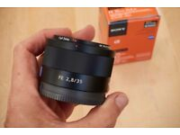 Sony Zeiss 35mm f2.8 Sonnar T* FE ZA (SEL35F28Z)
