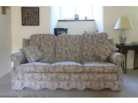 Country Cottage style 3 seater Settee