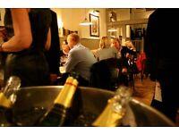 Bar/restaurant Supervisor for Central London Wine Bar