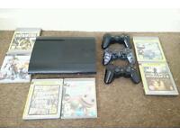 PS3 Super Slim 12 GB + 6 Games Bundle