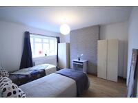 TWIN ROOM TO RENT IN ARCHWAY AREA GREAT LOCATION CLOSE TO THE TUBE STATION. 4B