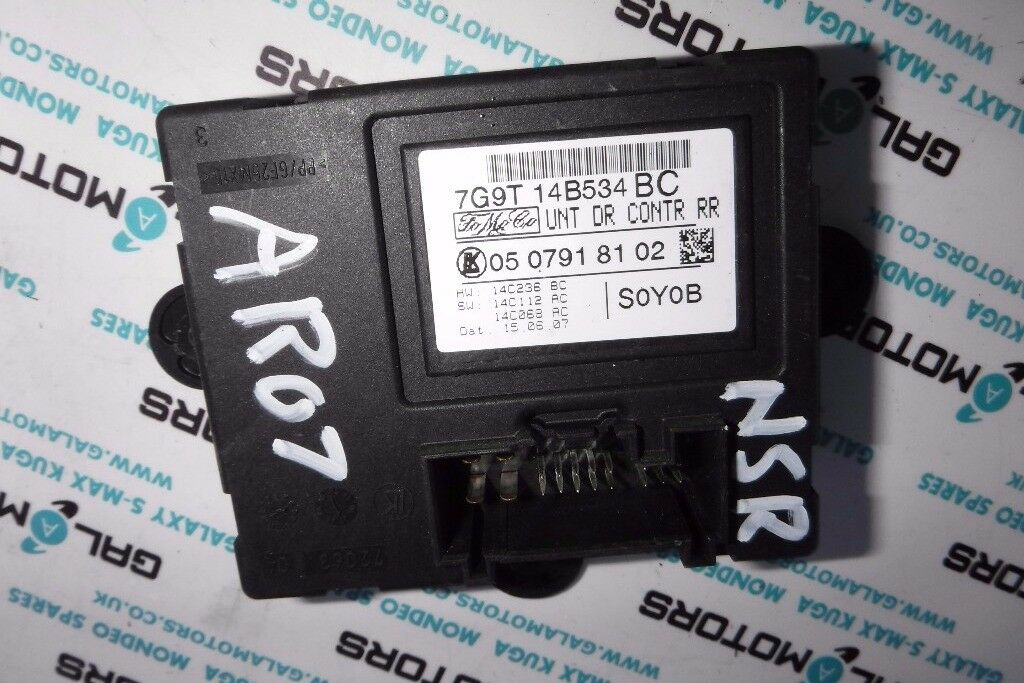 FORD GALAXY S-MAX NSR DOOR MODULE 2006-2010 AR07