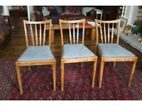 Two or Three dining chairs for restoration/upcycling