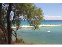Beautiful apartment on SEAFRONT in Crete-1st two weeks in July LAST MINUTE DEAL DUE TO CANCELLATION