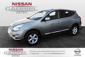 2013 Nissan Rogue S FWD AUCUN ACCIDENT, UN PROPRIO, TOIT OUVRANT
