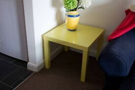 SOLD-Yellow Side Table