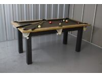 Dining table fusion pool table