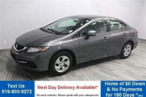 2013 Honda Civic LX HEATED SEATS! POWER PACKAGE! CRUISE CONTROL!