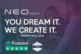GLASGOW BASED Website Design from £150   Digital Marketing   Ecommerce   SEO   Branding