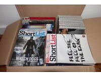 Big box of Short List magazines excellent condition