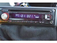 KENWOOD CAR CD RADIO PLAYER AUX IN
