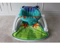Fisher Price Sit Me Up Frog Floor Seat - Excellent Condition