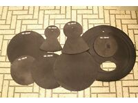 Vic Frith Practice Pads for Drum Kit