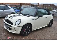 MINI CONVERTIBLE 1.6 Cooper S Sidewalk 2dr (white) 2008