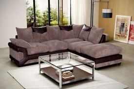 Jumbo cord sofa's, available as a 3+2 seat set or corner. CLICK SEE ALL ADS TO VIEW OTHER ITEMS