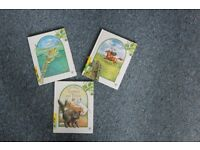 Childrens' Christian books: Animal tales with moral: 3 hardback books