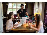 Full Time Bartender/Waiter - Up to £7.20 - Live Out - Jolly Fisherman, Near Ware, Hertfordshire