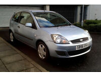 2006 56 FORD FIESTA 1.25 DURATEC. FULL SERVICE HISTORY, 3 OWNERS, MOT AUGUST, 109k MILES, RELIABLE